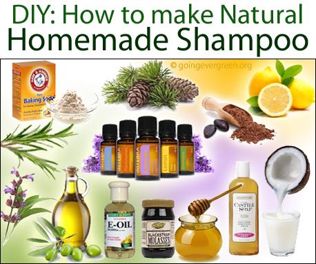 All Natural Shampoo Recipe