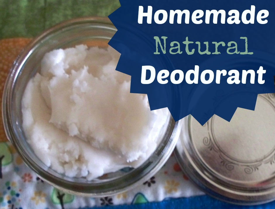 Natural Homemade Deodorant Picture