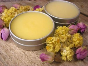 Homemade Organic Lip Balm