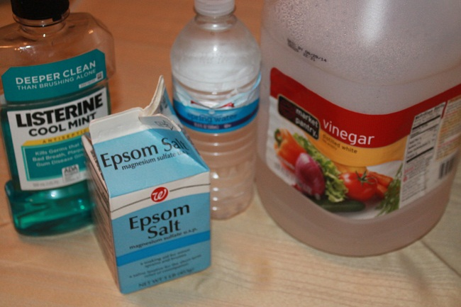 Diy Homemade Detox Foot Soaks With Listerine And Epsom Salt