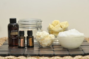 Homemade Body Butter with Coconut Oil