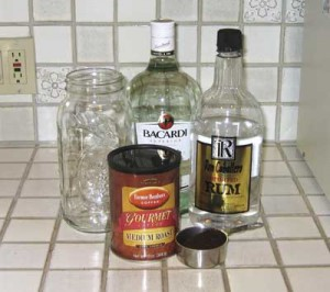 Kahlua with Rum