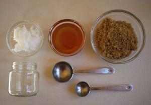 Natural Lip Scrub with Brown Sugar