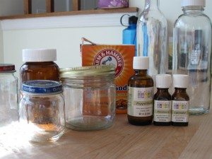 Antibacterial Mouthwash with Tea Tree Oil & Baking Soda