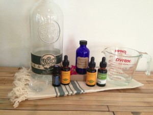 Antimicrobial Mouthwash Recipe with Vodka