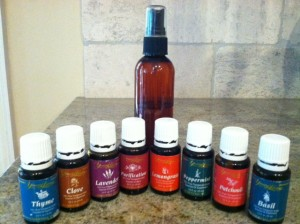 Bug Repellent with Blended Essential Oils