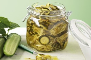 Cucumber Bread and Butter Pickles