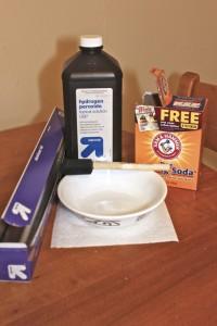 Hair Lightener using Hydrogen Peroxide