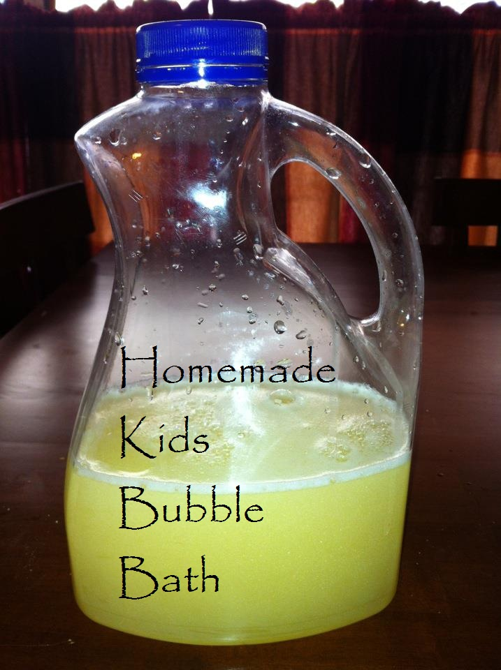 Diy homemade bubble bath recipes going evergreen for How to make bubbles liquid at home