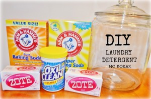 Homemade Powder Laundry Soap Without Borax