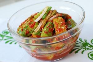 Korean Cucumber Refrigerator Pickle