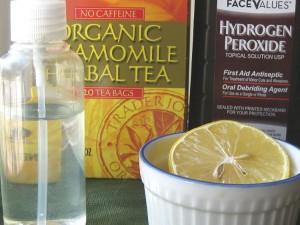 Natural Hair Lightener Recipe