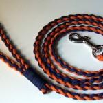 4 Strand Round Braid Paracord Dog Leash