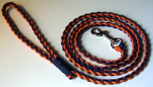 4 Strand Round Braid Paracord Dog Leash
