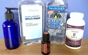 Alcohol free Homemade Hand Sanitizer Gel