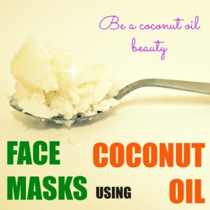 Easy Natural Coconut Oil Face Mask