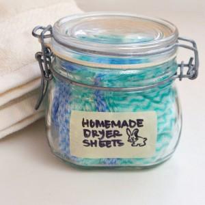Homemade DIY Dryer Sheets