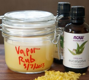 Homemade Vicks Vapor Rub for Adults