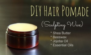 Simple Homemade Hair Pomade