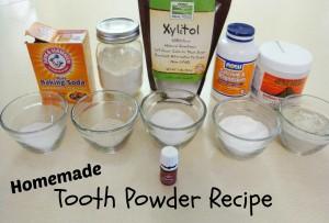 Homemade Tooth Powder Recipes